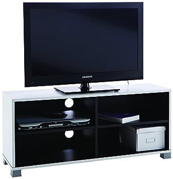 Demeyere 453218 Banc Tv Blancnoir 101 Cm Amazonfr Cuisine Maison