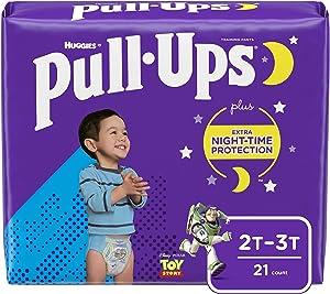 Pull-Ups Night-Time Boys' Training Pants, 2T-3T, 21 Ct