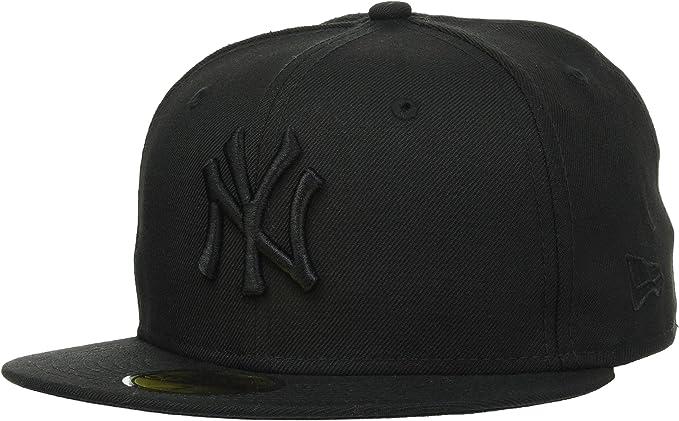 A NEW ERA Black On Black York Yankees - Gorra Hombre: Amazon.es ...