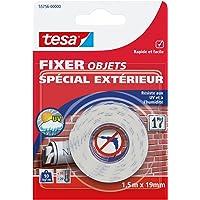 Tesa 55756-00000-00 Fixer Objets Spécial Extérieur 1,5 m x 19 mm