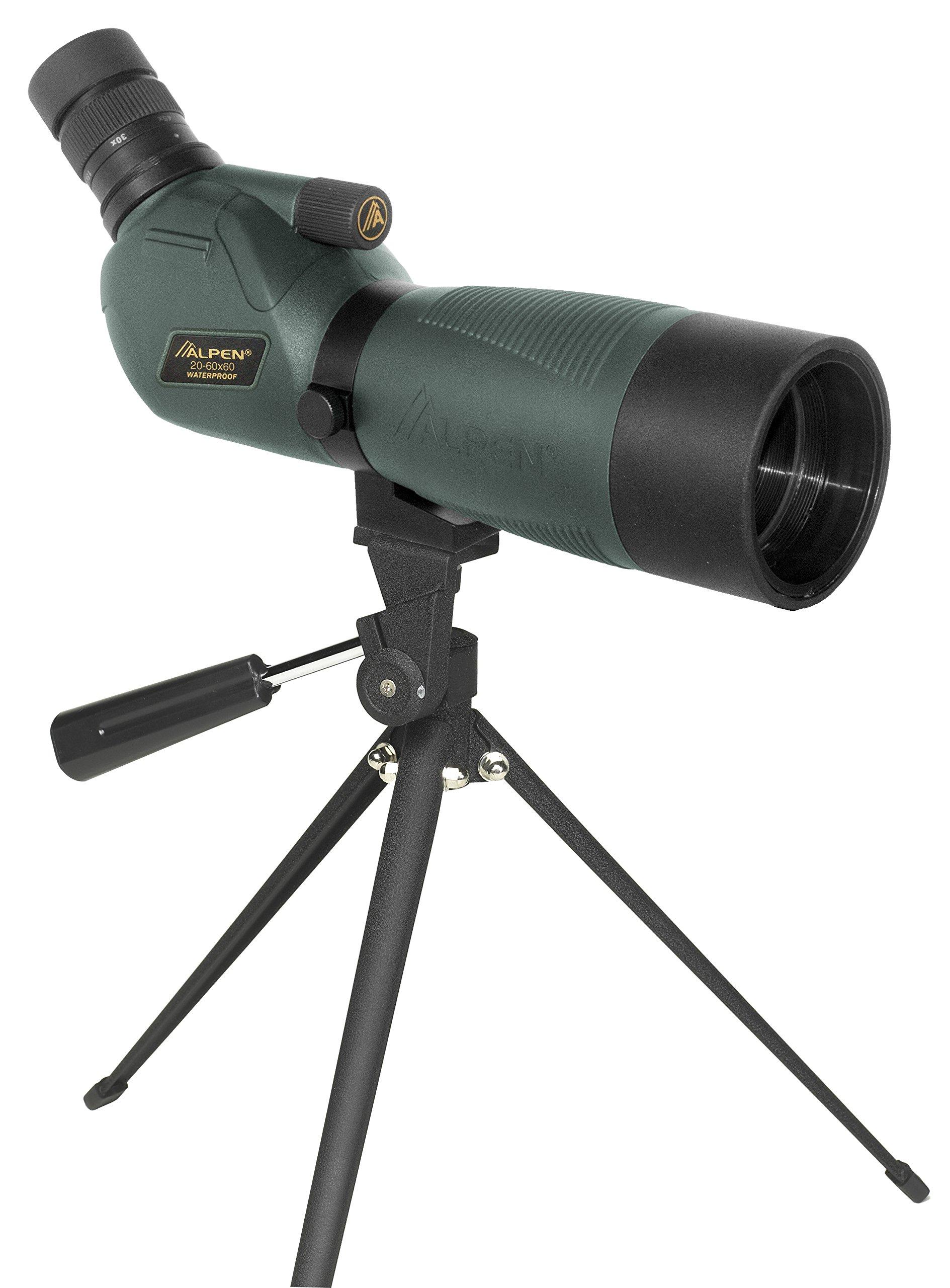 Alpen Optics 20-60x60 w/45 deg eyepiece Waterproof Fogproof Spotting Scope