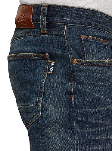 Psycho Bunny Macdougal Slim Fit Indigo Blue Men/'s Jeans PB162056S