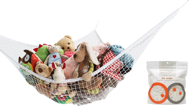Amazon.com  Mayapple Baby | Stuffed Animal Toy Hammock | Premium Plush Toy Hanging Organizer | SKY JUNGLE | Jumbo Extra Large Storage Mesh Pet Net ...  sc 1 st  Amazon.com & Amazon.com : Mayapple Baby | Stuffed Animal Toy Hammock | Premium ...
