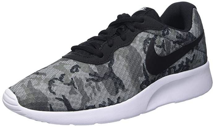 Amazon.com | Nike Mens Nike Tanjun Print Shoes Cool Grey Wolf Grey Dark  Grey Black Size 8.5 | Shoes