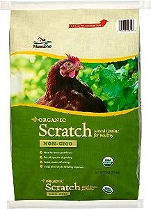 Manna Pro Organic Scratch Mixed Grains, 30 lb