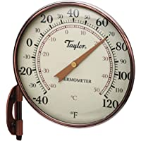 """Taylor Precision Products 481CR Heritage 4.25"""" Dial Thermometer, Copper"""