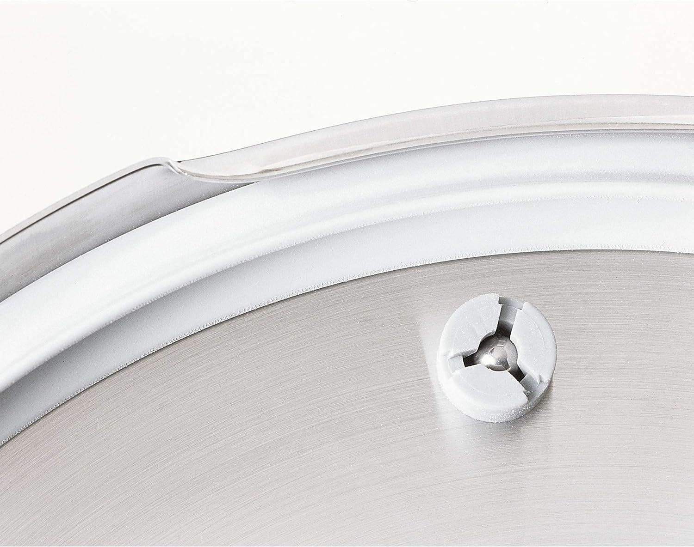 para inducci/ón 4,5 l Fabricado en Alemania Acero Inoxidable cromargan di/ámetro 22/cm WMF Olla expr/és