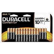 Duracell Coppertop Alkaline Aaa, 24 Count