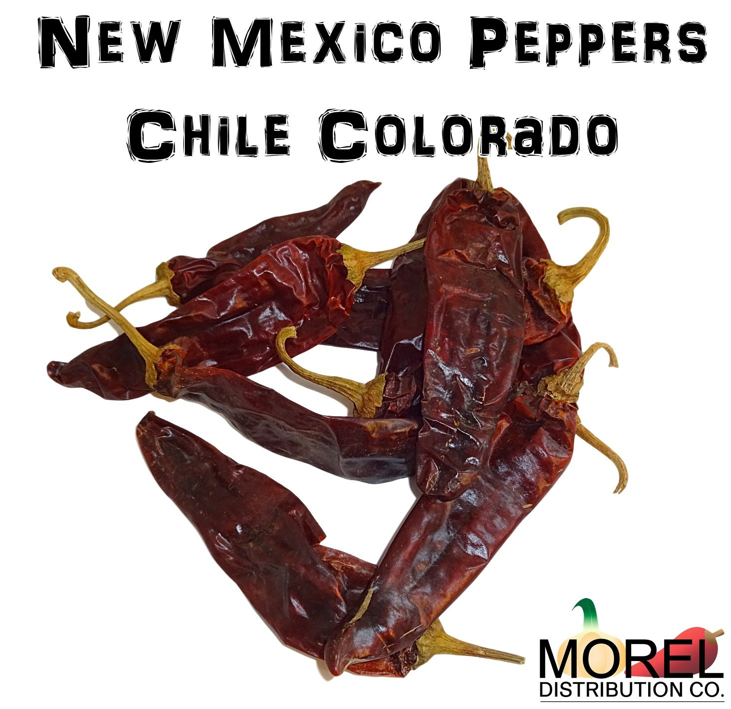 Dried New Mexico Chile (Chile Colorado) / Weights: 4 Oz, 8 Oz, 12 Oz, 1 Lb (1 lb)