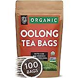 Organic Oolong Tea Bags   100 Tea Bags   Eco-Conscious Tea Bags in Kraft Bag   Raw from China   by FGO