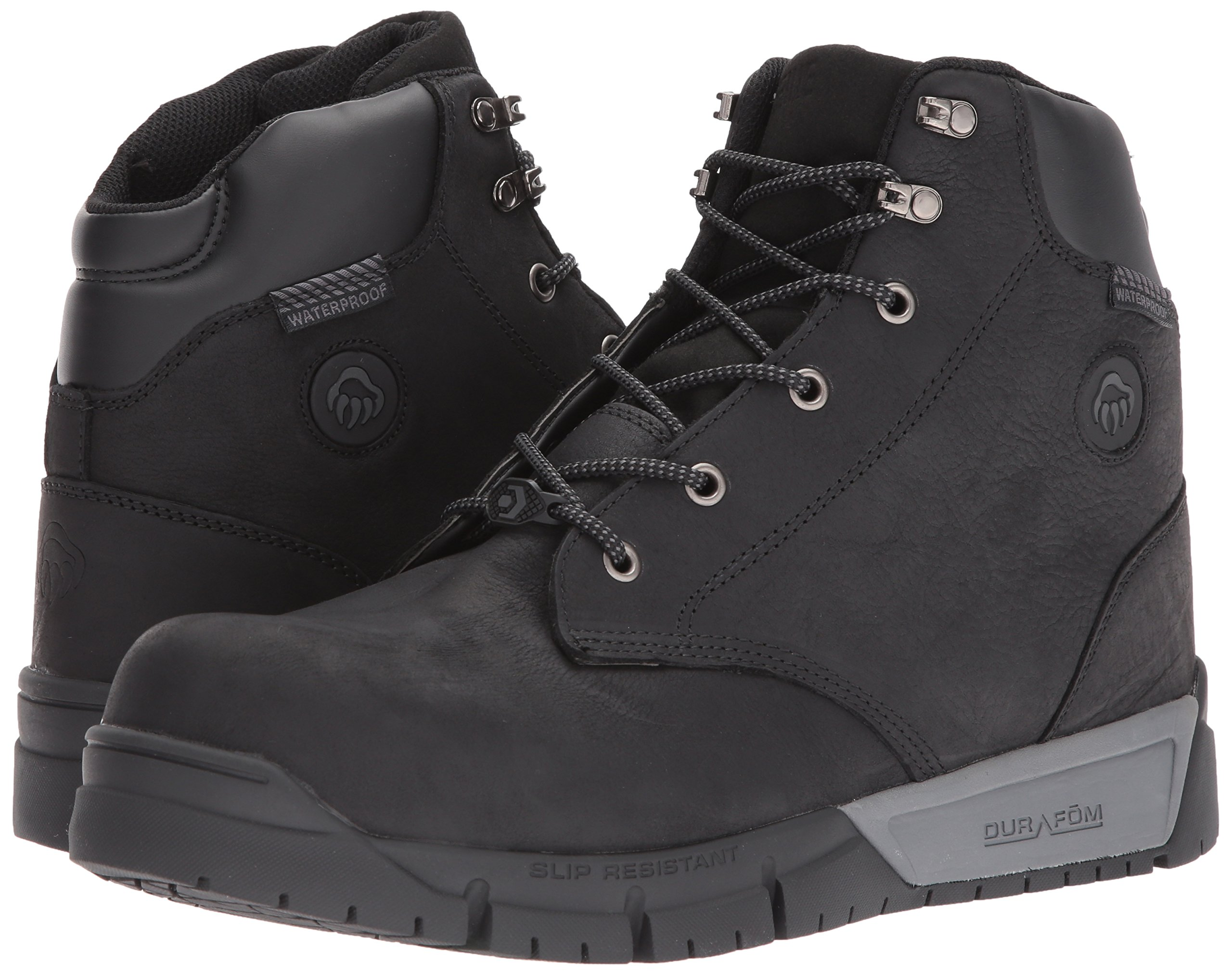 Wolverine Men's Mauler LX Composite Toe Waterproof Work Boot Black 7 W US by Wolverine (Image #6)
