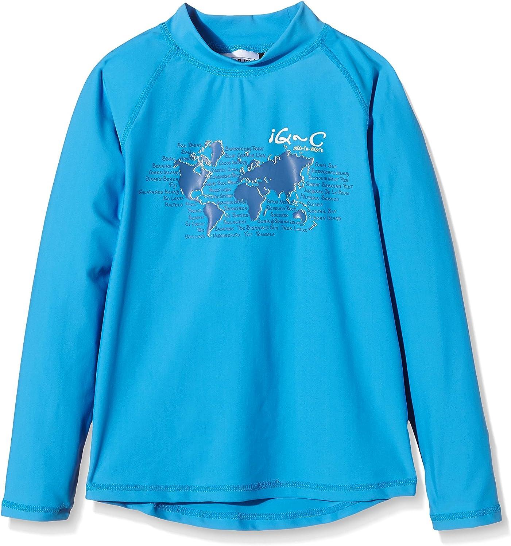 Maglietta con Protezione UV Bambino IQ 300 Youngster Maniche Lunghe Ocean IQ-Company