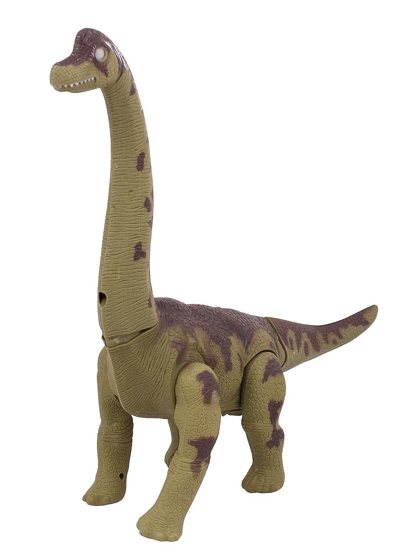amazon com techege toys walking brachiosaurus dinosaur shines