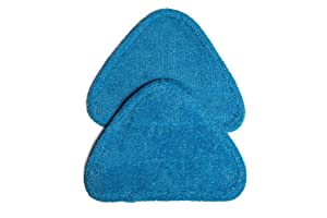 Green Label 2 Pack for Hoover Multi-Surface Microfiber Steam Mop Pads (compares to WH01000)