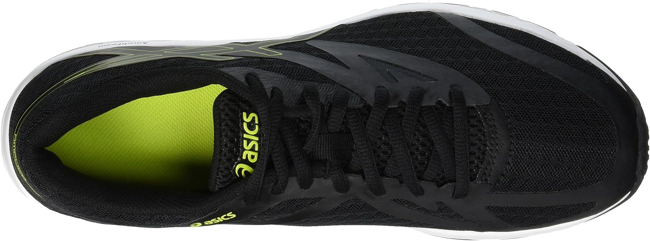 Asics Amplica, Zapatillas de Entrenamiento para Hombre, Negro (Black/Rose Neon Lime 001), 40.5 EU: Amazon.es: Zapatos y complementos