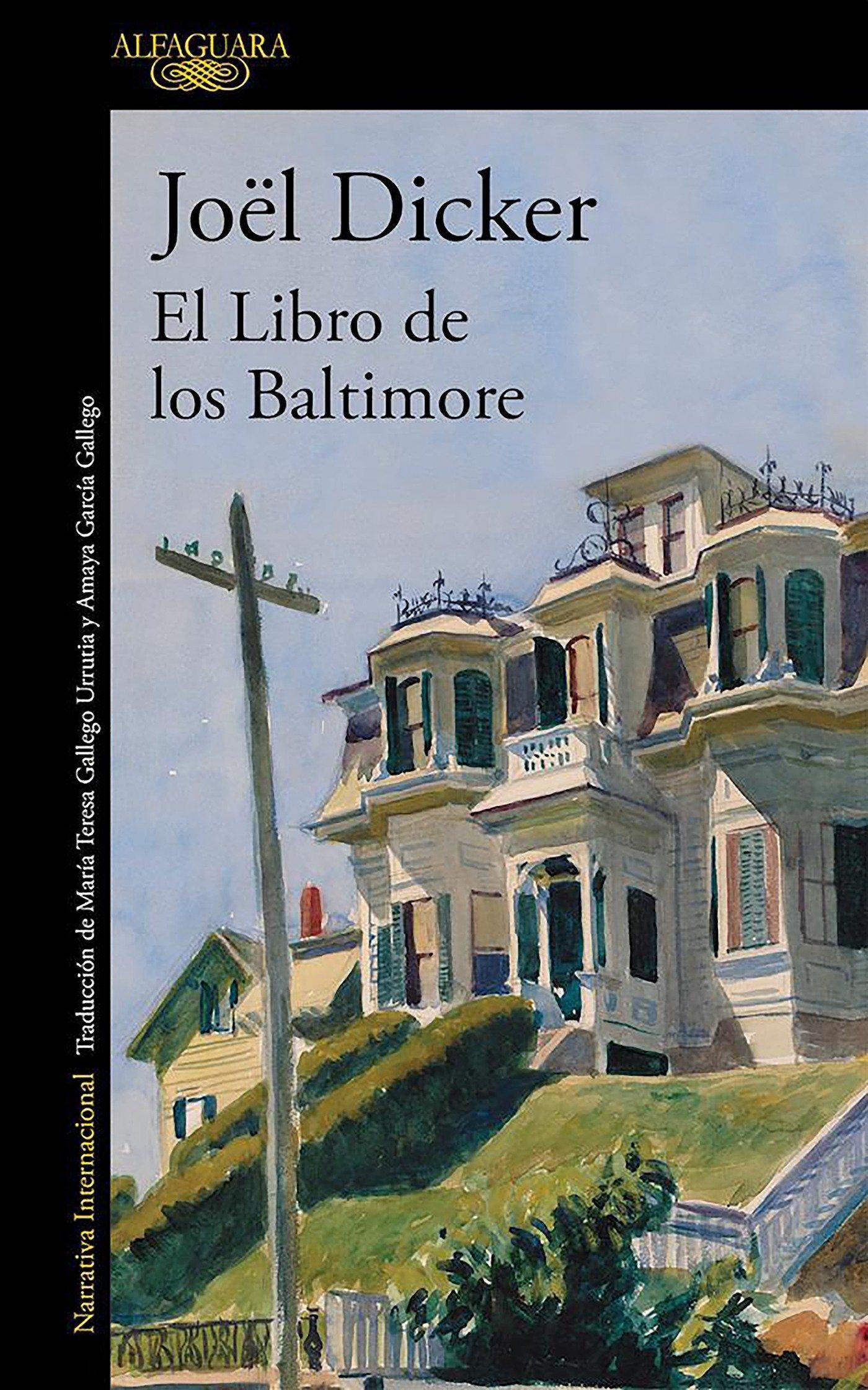 El Libro de los Baltimore (LITERATURAS): Amazon.es: JOEL DICKER ...