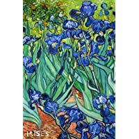 Irises: Plain Unruled Notebook - Original Artwork by Vincent van Gogh (1889)