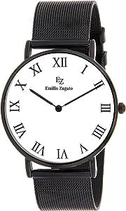 Emilio Zagato Stainless Steel Casual Watch For Women Bez40063 002, Analog