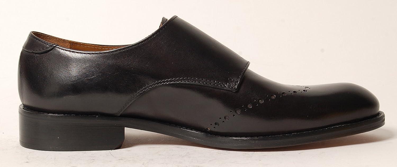 Antica Calzoleria Campana Schuhe | Mod. 1506 | dunkelbraun, Monkstrap | Kalbsleder | dunkelbraun, | (dunkel ) blau oder schwarz Schwarz 8ddd41