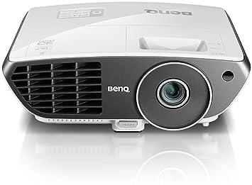 BenQ W703D - Proyector de 720 pixels - color negro, blanco