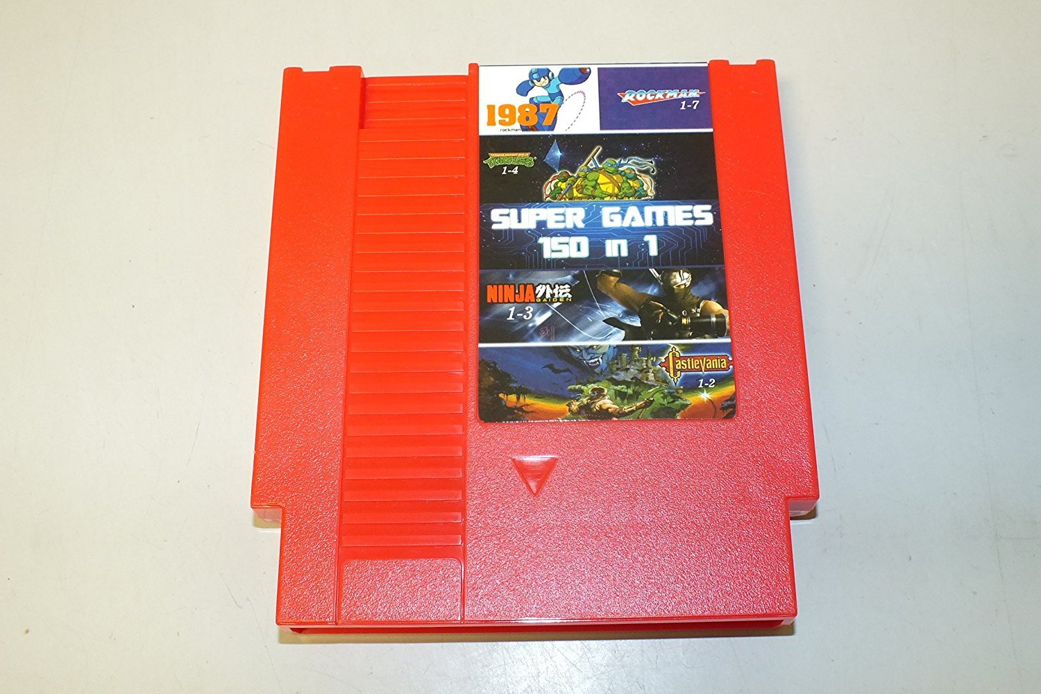 ANAY 150 in 1 Super Games Multi-Cart Red