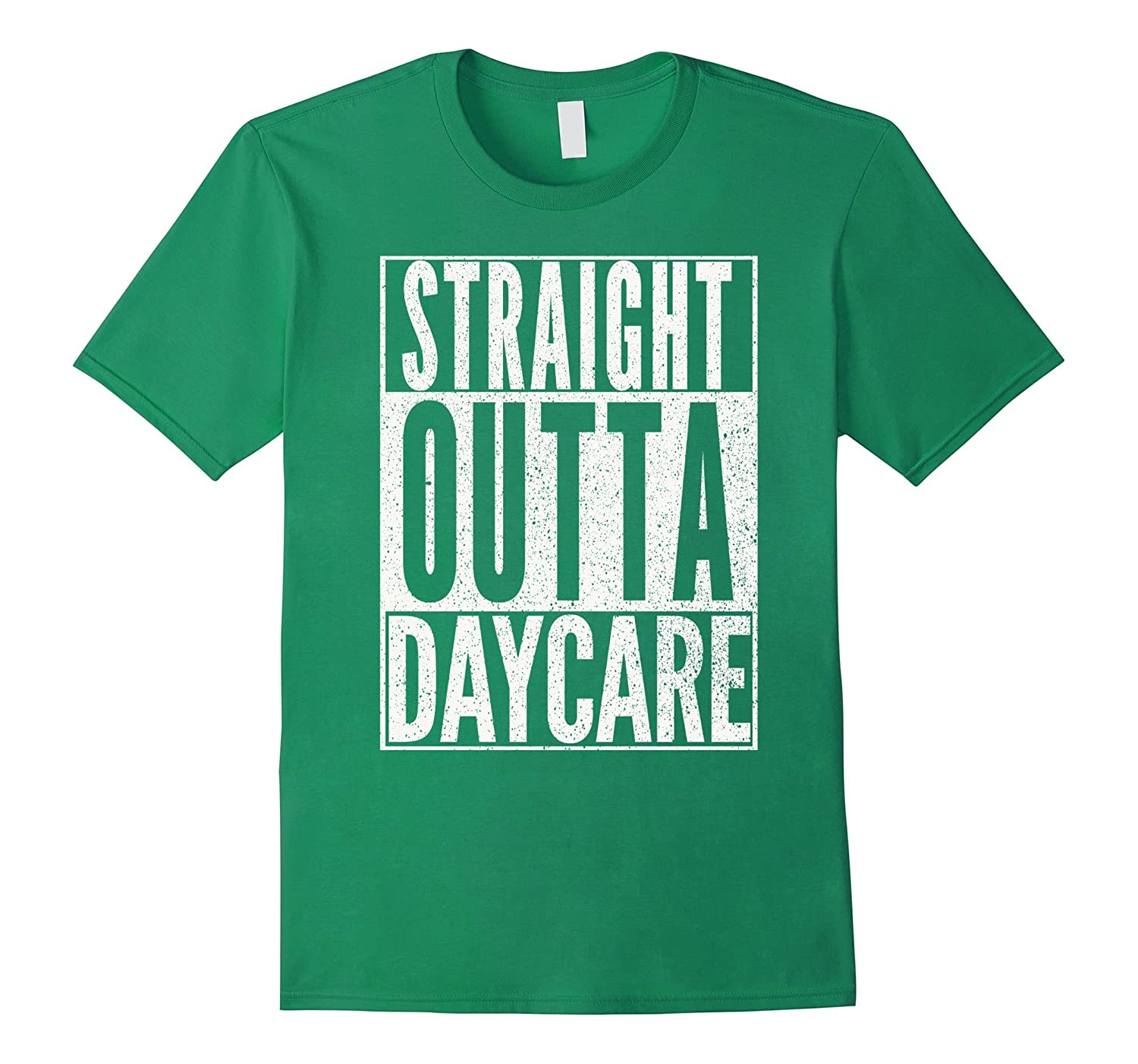 straight outta daycare shirt funny teacher child toddler