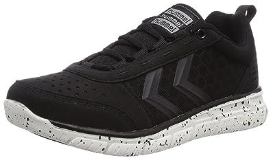 Hummel Crosslite Q, Chaussures de Fitness Mixte adulte, Noir, 36 EU