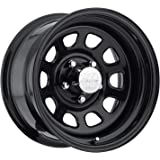 Pro Comp Steel Wheels 51-5873 Rock Crawler Series 51 Black Wheel Size 15x8 Bolt Pattern 5x5 Offset -19 Back Spacing 3.75 in.