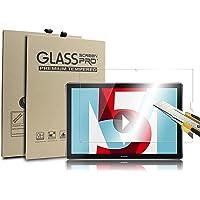 Supremery Bildschirm Glas Folie für Huawei MediaPad M5 (10,8 Zoll) Schutzfolie Panzerglas extra Hart gegen Kratzer und Stürze - Blasenfrei HD Clear (Premium Qualität)