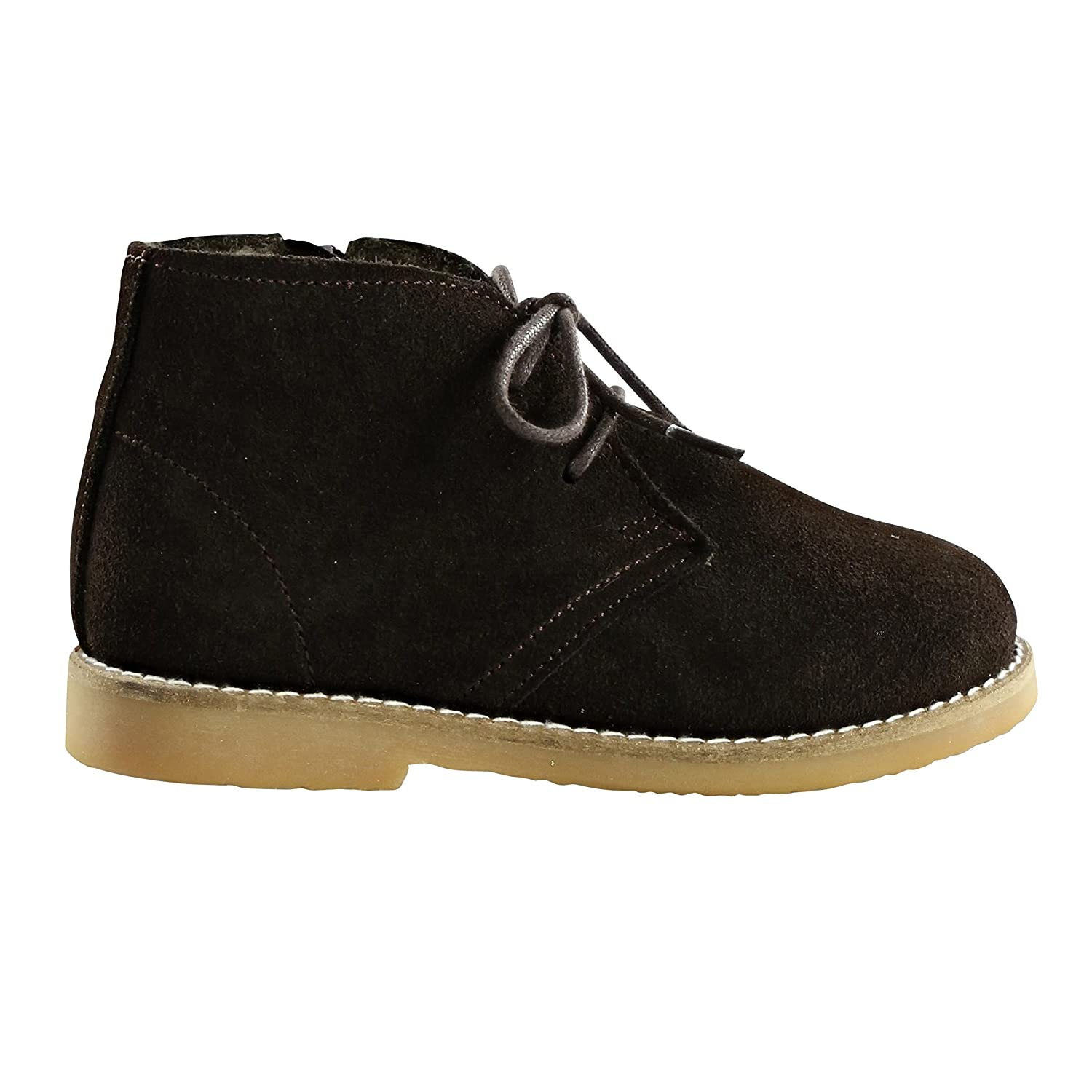 Anais /& I Girls Leather Suede Lace Up Ankle Boot