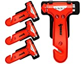 4 PCS of IPOW Car Safety Antiskid Hammer Seatbelt
