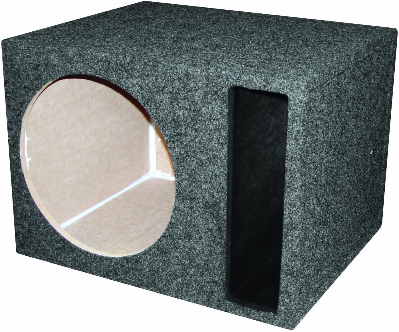 "12/"" Labyrinth Slot Vented Subwoofer Box R//T Enterprises  300 Single Series"