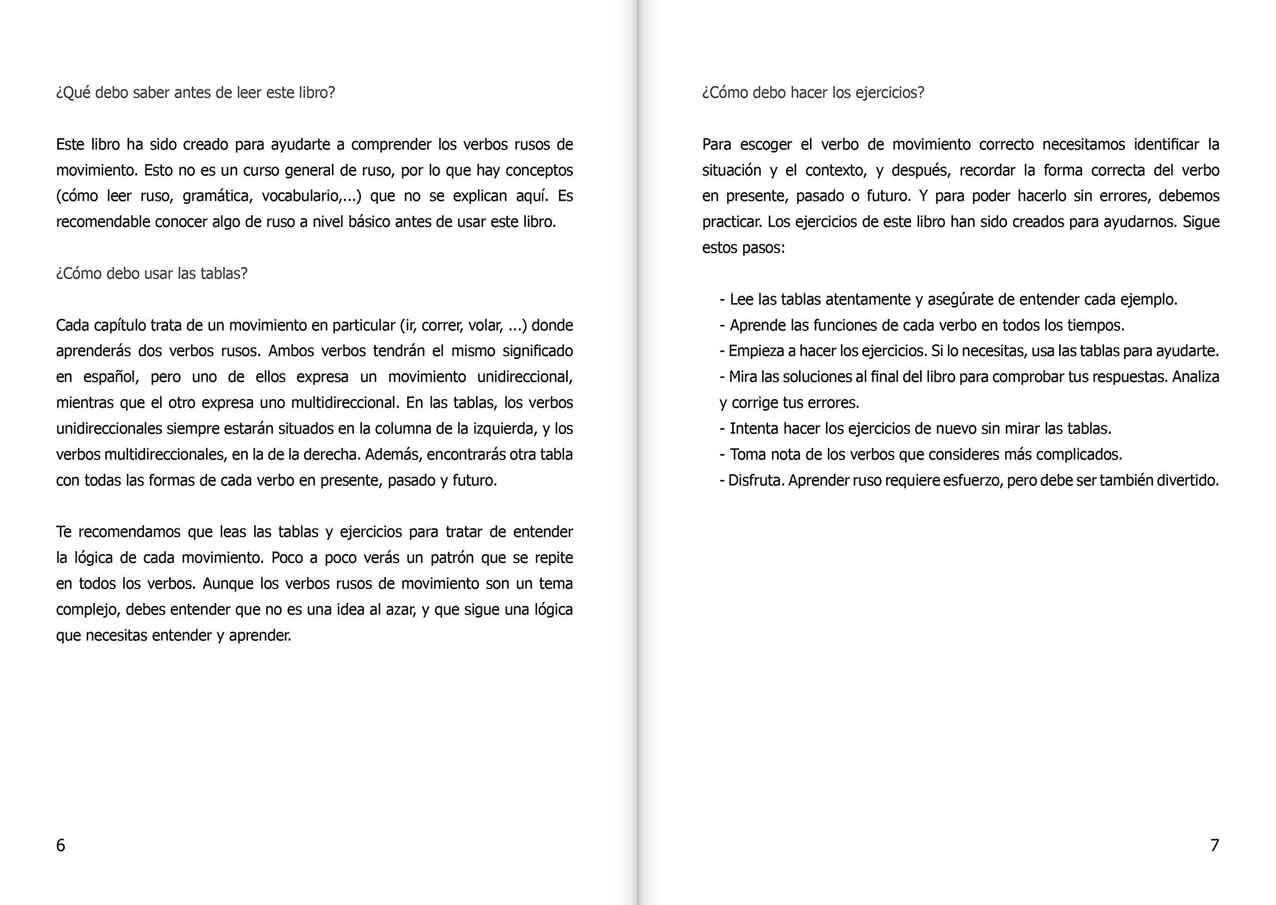 Verbos de movimiento: ejercicios y tablas. Niveles A1-A2: Amazon.co.uk:  Anastasia (adap.) Chulkova: 9788416971220: Books