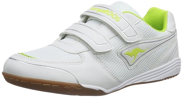 KangaROOS Backyard 10704/063 - Zapatillas de deporte para niños, color blanco, talla 35