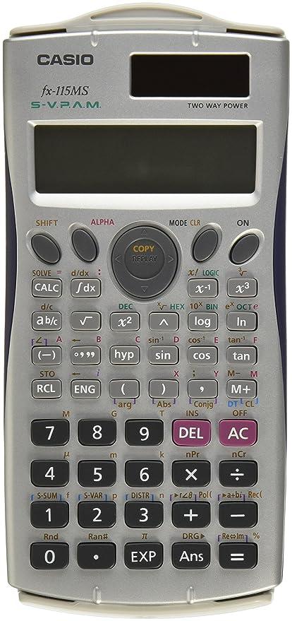 Amazon Casio Fx 115ms Plus Sr Scientific Calculator