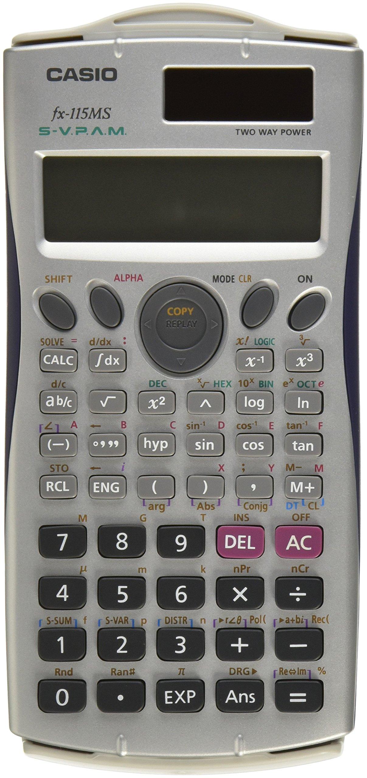 casio fx 115ms plus scientific calculator manual