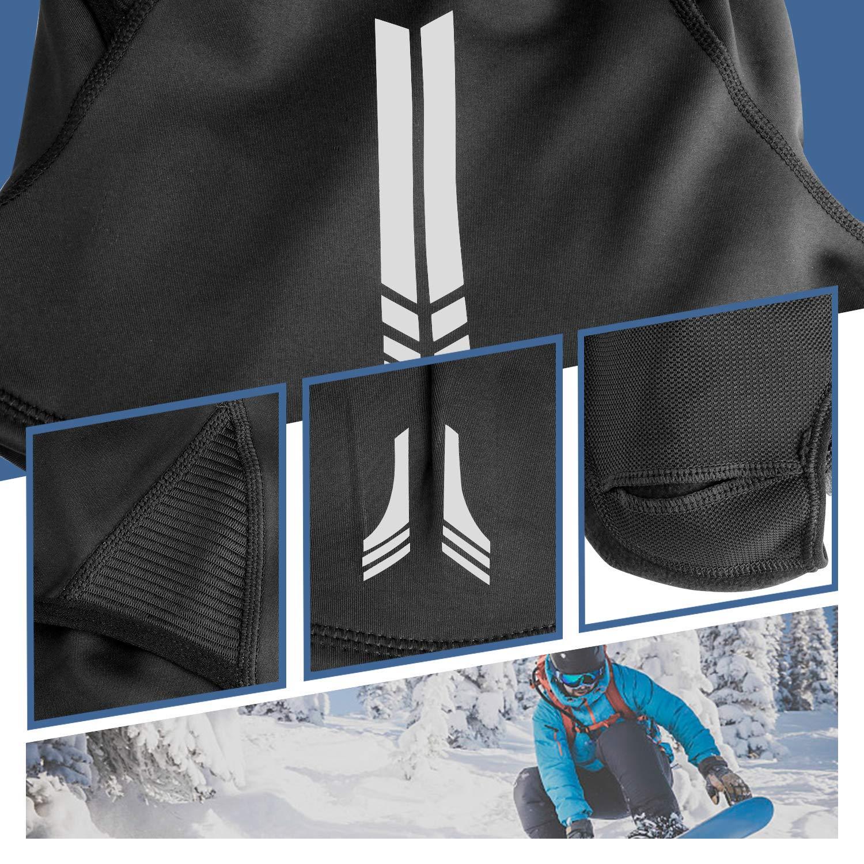 Elegant Choise Balaclava Ski Mask Winter Face Mask Windproof Ski Mask Motorcycle Mask Cold Weather Mask Fleece Full Face Mask for Outdoor Men and Women