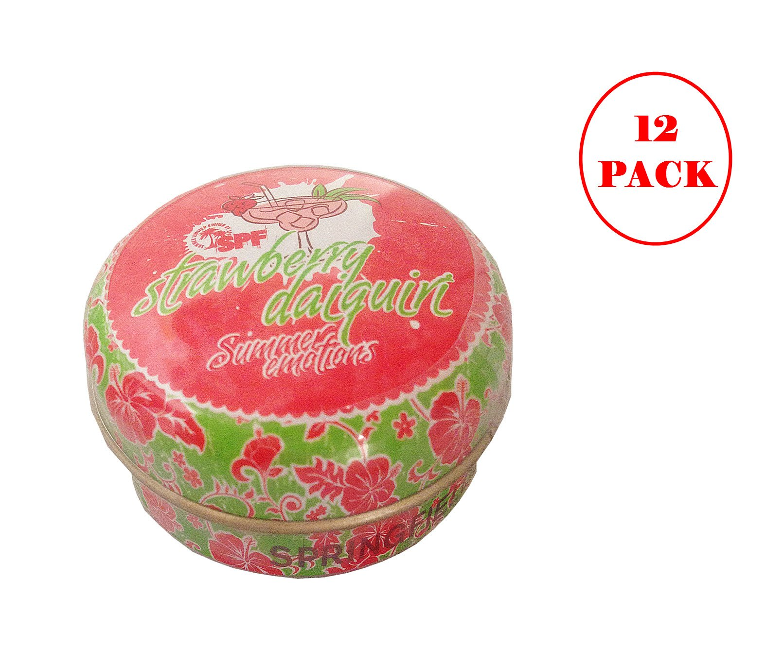 Springfield Strawberry Daiquiri Lip Balm 15ml. Pack of 12