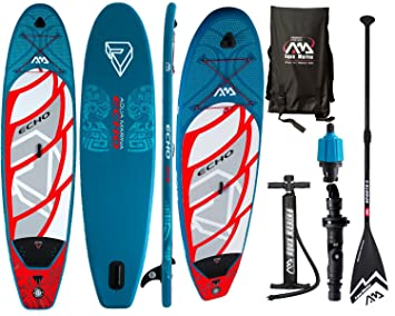Aqua Marina Echo 10.6 ISUP Sup Stand Up Paddle Board Remo Después de selección, Board+Sport Paddle: Amazon.es: Deportes y aire libre