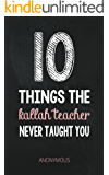 10 Things The Kallah Teacher Never Taught You