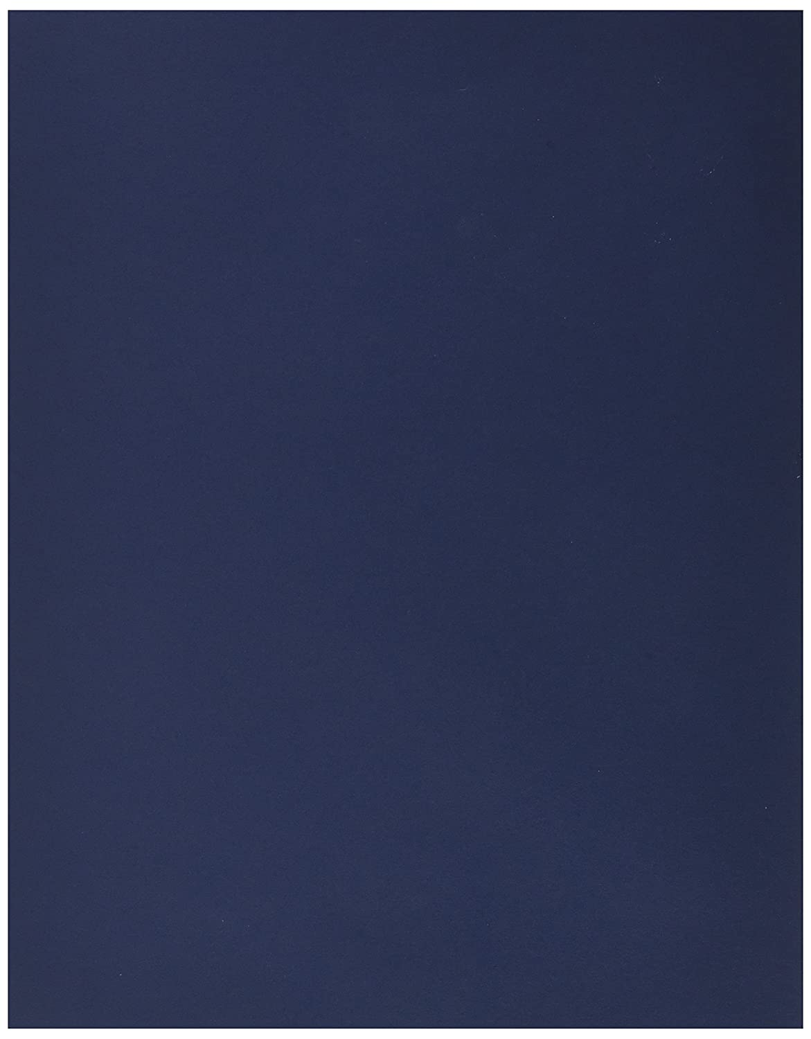 JAM Paper® Matte Paper - 216 x 279.5 mm (8 1/2 x 11) - 28 lb Navy Blue - 50/pack 156550