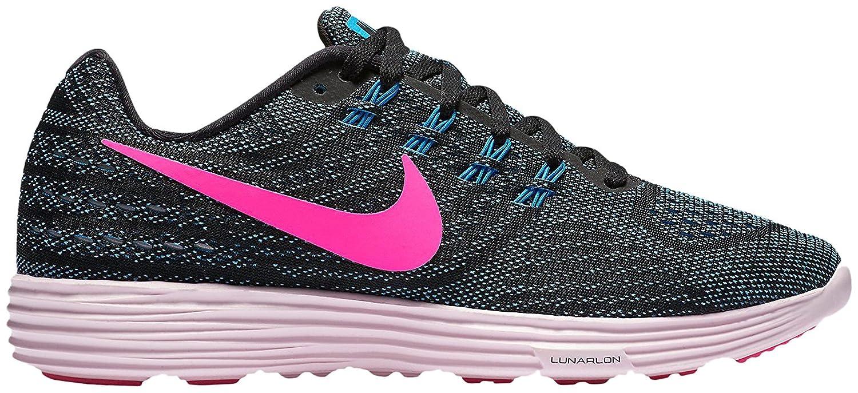 NIKE Women's Lunartempo 2 Running Shoe B005OBGJFK 6 B(M) US|Blue Glow/Pnk Blst Blk Prl Pnk
