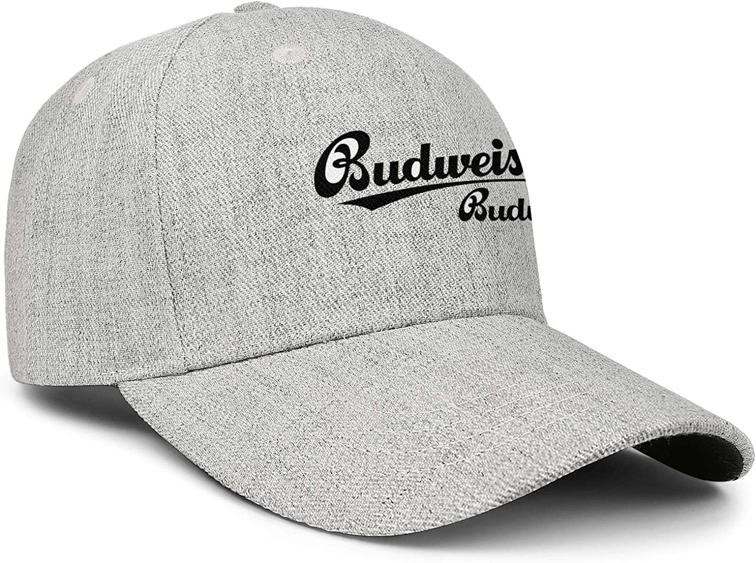 Budweiser Budvar Logo Womens Men Wool Cool Cap Adjustable Snapback Beach Hat