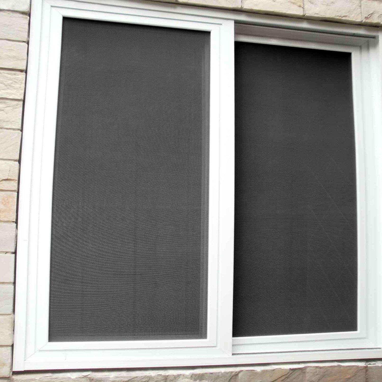 Fiberglass Window Screen 48x99 Inch Window Mesh Diy Custom Black