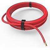 AUPROTEC® Fahrzeugleitung 4,0 mm² FLRY-B als Ring 5m oder 10m Auswahl: 10m, rot
