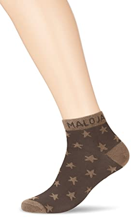 Maloja Clichym Calcetines, Mujer, Gris (Charcoal), 39-42