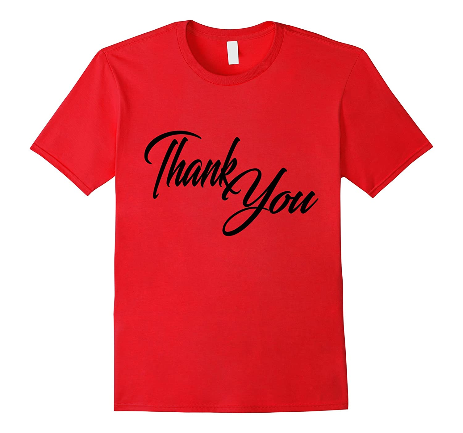 Thank You T-shirt  Vintage Iconic Funny Retro-CL