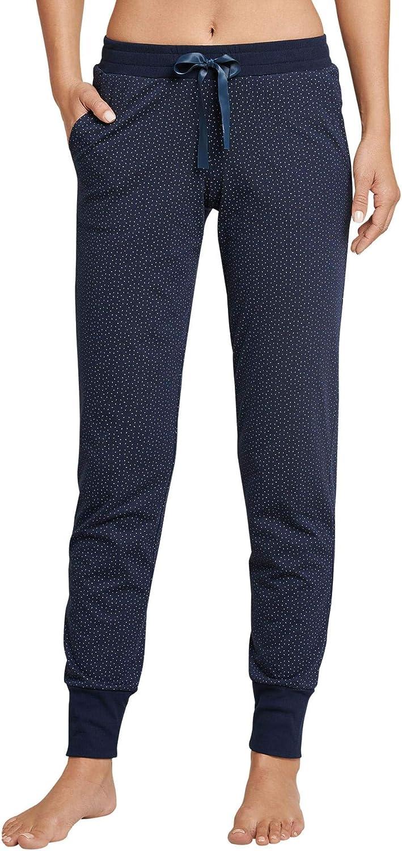 Schiesser Mix & Relax Jerseyhose Lang Pantalones de Pijama para Mujer