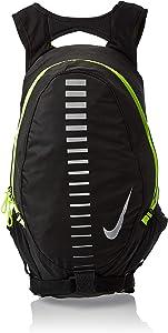 Nike Running Backpack, Black/Volt Green, medium