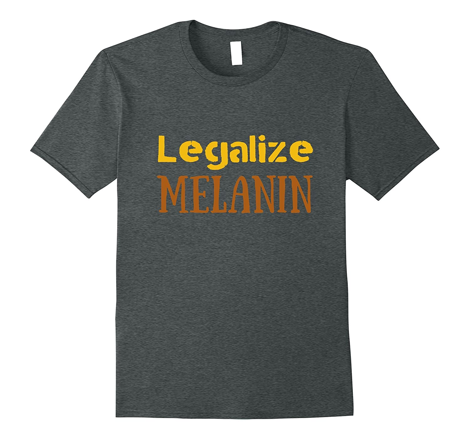 Legalize Melanin T-Shirt Black Afro Girl-CD